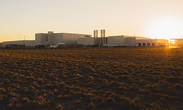 Chobani facility in Twin Falls, Idaho (Photo: Twitter/Chobani)