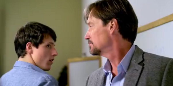 "A scene from ""God's Not Dead,"" the 2014 Christian-themed movie."