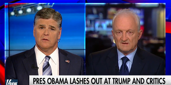 Former Department of Homeland Security officer Philip Haney appears on Fox News' Sean Hannity show (Photo: Screenshot)