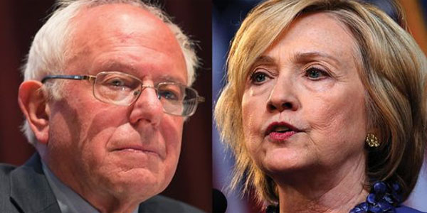 Bernie Sanders and Hillary Clinton (Photo: Twitter)