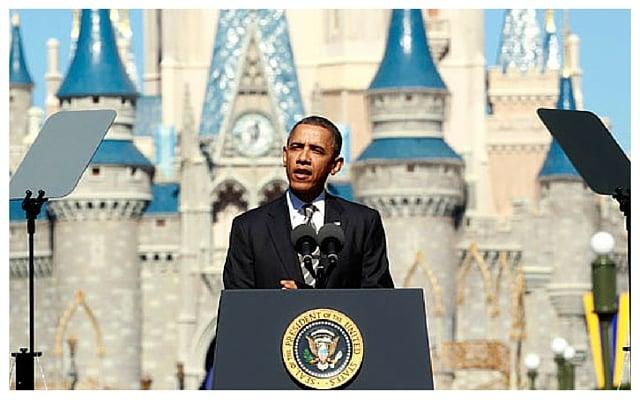 President Obama in Orlando, Fla.