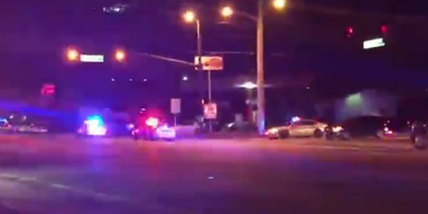 View from street as gunfire unfolded in Pulse club, Orlando, Florida