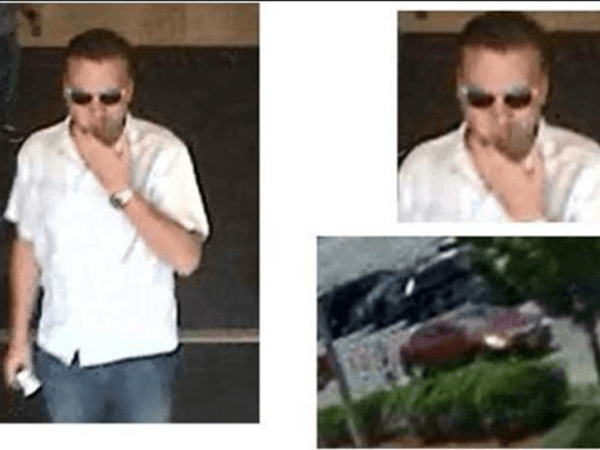 Police in Revere, Massachusetts, released these images of a suspected Target peeping tom