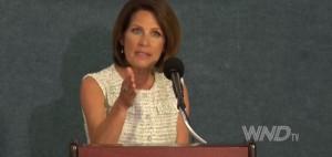Former Republican Rep. Michele Bachmann, R-Minn