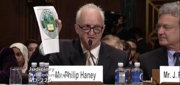 Senate hearing June 28, 2016 (Screenshot Senate Judiciary Committee video).