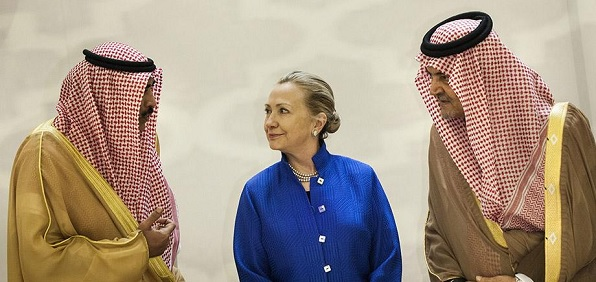 The Clinton Foundation has received millions from wealthy Saudi royals who repress women's rights and gay rights with flogging and death by stoning, beheading and other violent measures.