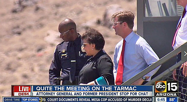 Image result for loretta lynch cozy with bill clinton