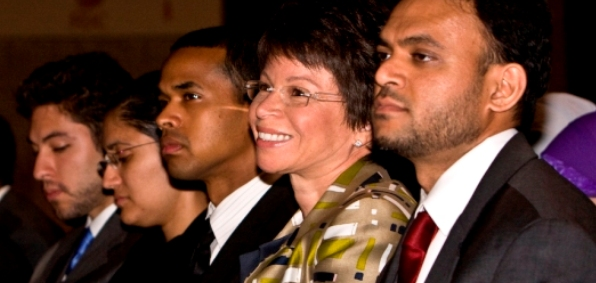 Obama senior adviser Valerie Jarrett at ISNA's annual convention in 2009 (Photo credit: Vince Isner, ISNA)