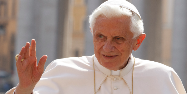 Former Pope Benedict