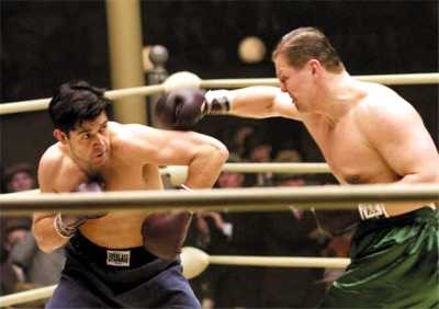 "Russell Crowe in a memorable scene from the film ""Cinderella Man"" Watch the scene right here"