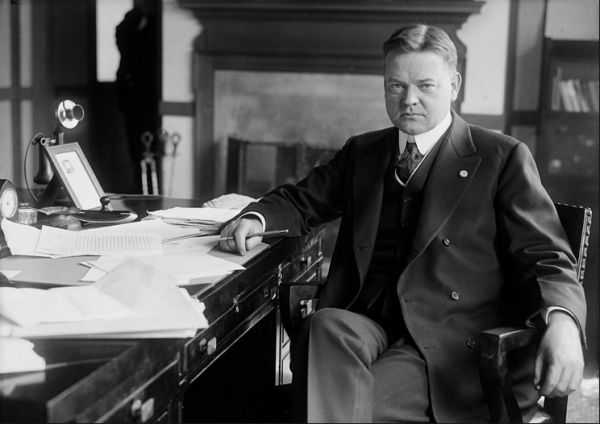 why was herbert hoover so maligned by history