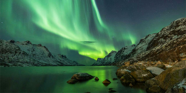 Northern lights in Norway (Photo: Twitter)
