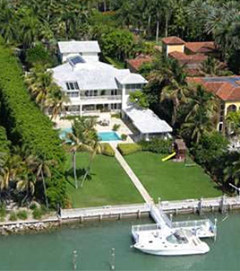 Claudio Osorio's former waterfront home in Florida