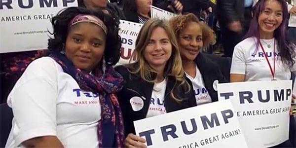 Trump's black support explodes in biggest battleground state