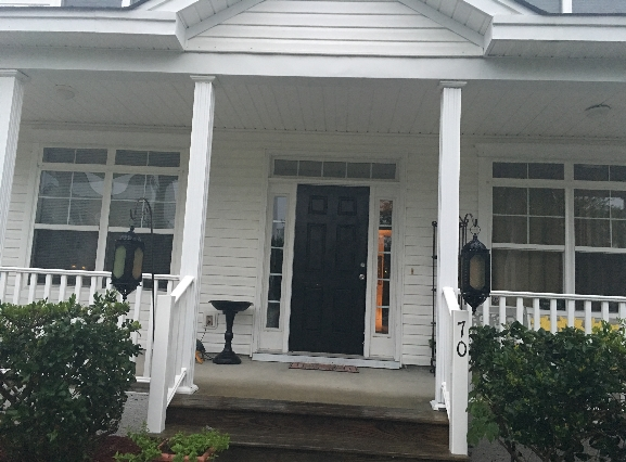 This is the house in Bluffton, S.C., where the government supposedly placed 10-year-old Walter.