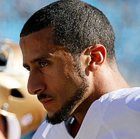 Colin Kaepernick of the San Francisco 49ers