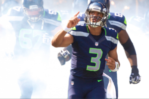 QB Russell Wilson of the NFL's Seattle Seahawks