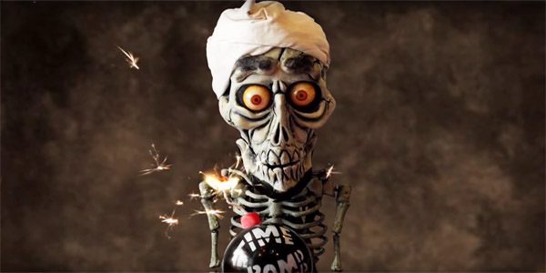 Jeff Dunham's famous puppet, Achmed the Dead Terrorist (Photo: Screenshot/YouTube)