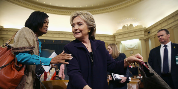 Hillary Clinton and aide Cheryl Mills