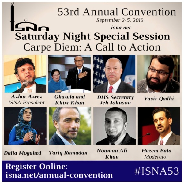 HILLARY AND UNITED METHODIST CHURCH jeh johnson to speak at ISNA in september 2016