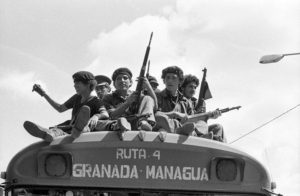 Sandanista revolutionaries in Nicaragua