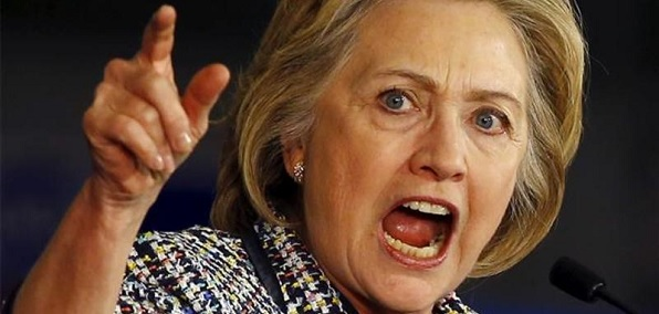 Image result for hillary angry