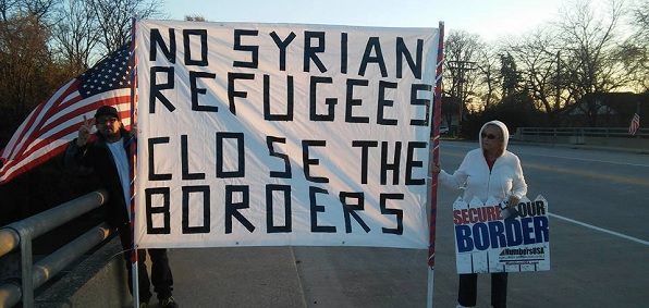 Protests against Syrian refugees have been occurring in communities across Europe and the United States.