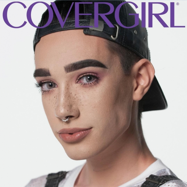 Cover Girl's cover boy