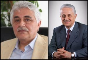 Iraqi nuclear scientist Dr. Jafar Dhia Jafar (left) is the brother and business partner of Hamid Dhia Jafar, Chairman of The Crescent Group (right)