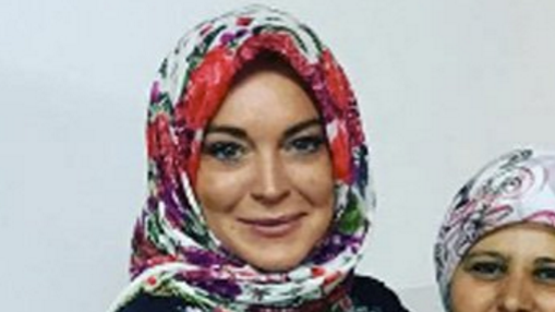 Lindsay Lohan does Isl... Lindsay Lohan Islam