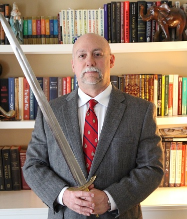 Dr. Timothy Furnish holds a doctorate of Islamic history from Ohio State University.