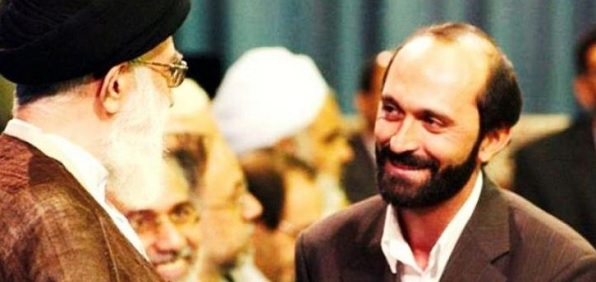 Saeed Toosi and Ayatollah Khamenei