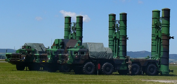 Russian S-300 Surface-to-Air Missile System
