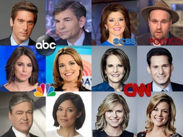 Sold out journalists on the Clinton 'favorable' list.