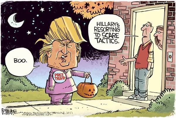 Hillary's Halloween ...