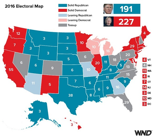 See Wnd S Color Counter Coup Electoral Map Wnd