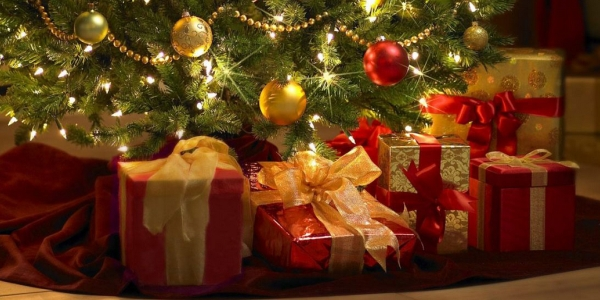 Gifts under Christmas tree-2