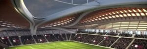 One vision of planned Qatari World Cup stadium, from Youtube