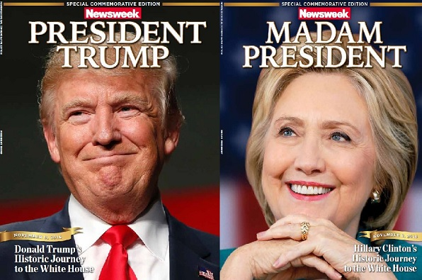 Newsweek Recalls Premature Hillary Clinton Issues After Donald Trump's Shocking Win