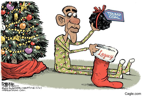 Obama S Legacy Gift This Christmas