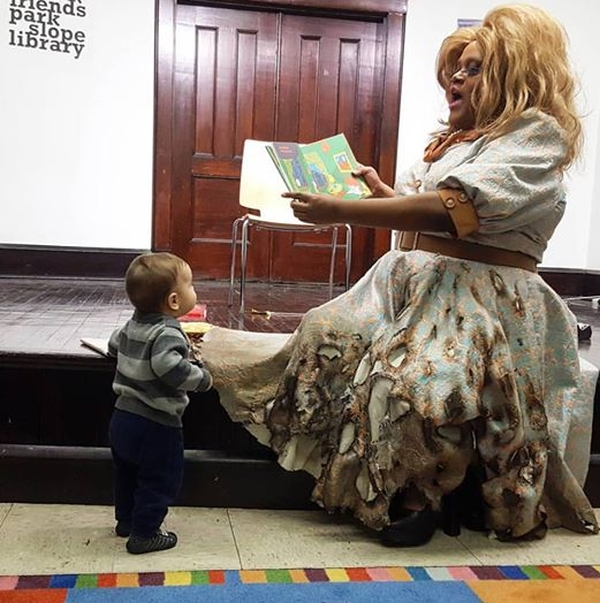 Drag Queen Story Hour at Brooklyn Public Library