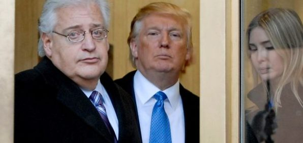 David Friedman, Donald Trump, Ivanka Trump