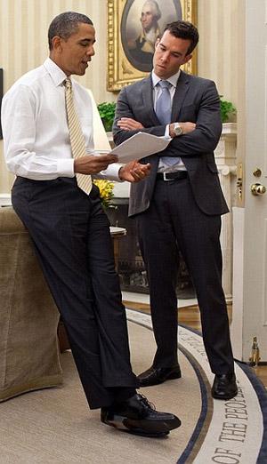 President Obama's former speechwriter Jon Favreau (White House photo)