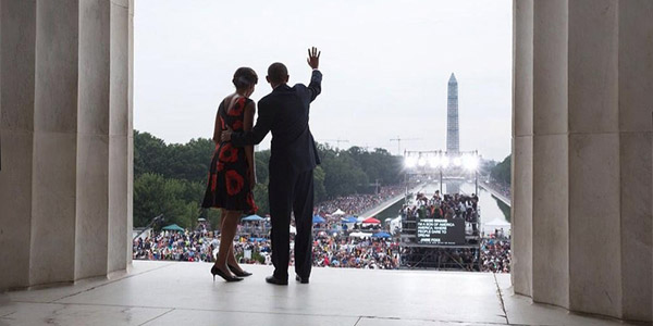 President Barack Obama and wife, Michelle (White House photo)