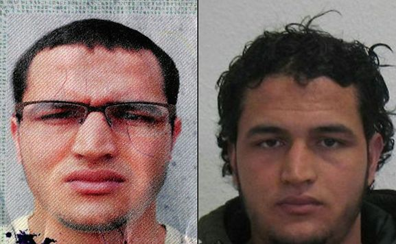 Anis Amri, 24, of Tunisia, is wanted as a suspect in the Dec.19 truck attack that killed 12 and injured 48 at a Christmas market in Berlin.