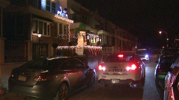 Three men were shot while decorating their homes for Christmas Nov. 23 in Philadelphia (WTXF-TV, Philadelphia photo)