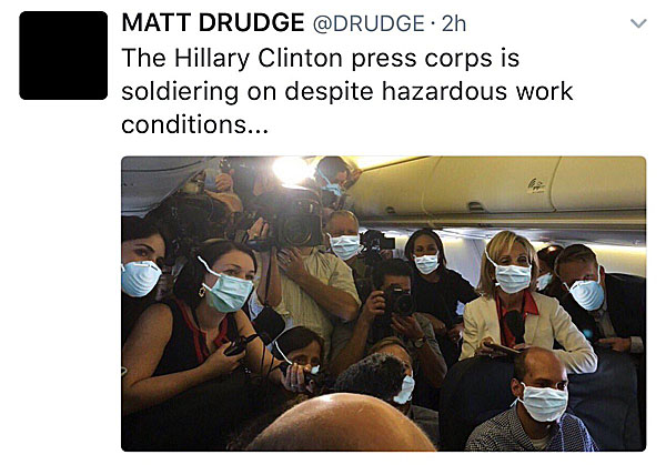 hillary-clinton-plane-press-corps-masks-drudge-original-tweet-600