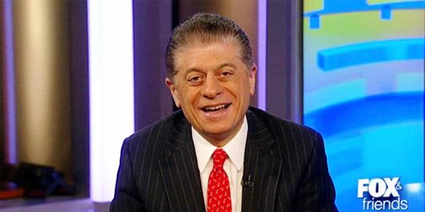 Judge Andrew Napolitano (Photo: Screenshot)