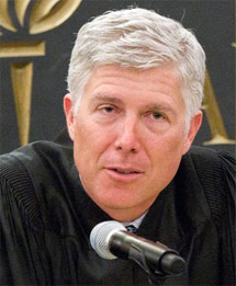 Federal Judge Neil M. Gorsuch