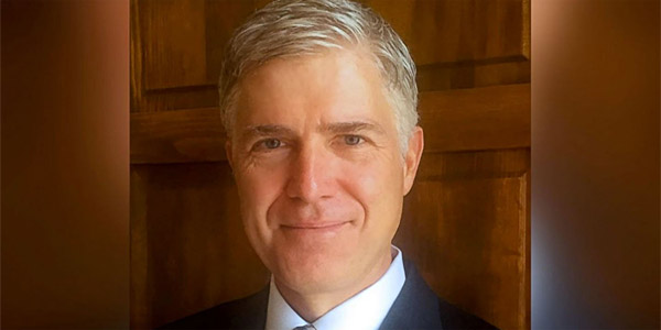 Federal Judge Neil M. Gorsuch (Photo: University of Colorado Law School)